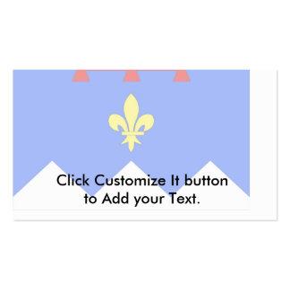 Alpes-De-Haute-Provence, France Business Card Template