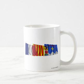 Alpes-de-Haute-Provence, PACA & France flags Coffee Mug