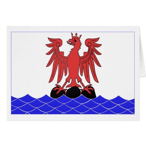 Alpes-Maritimes flag Card