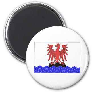 Alpes-Maritimes flag 2 Inch Round Magnet