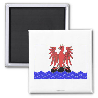 Alpes-Maritimes flag 2 Inch Square Magnet