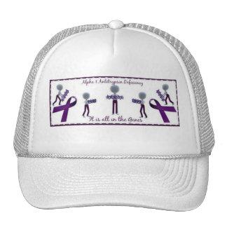 alpha 1 antitrypsin deficiency cap trucker hat
