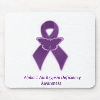 alpha 1 antitrypsin deficiency mouse pad