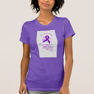 Alpha 1 Antitrypsin Purple tee