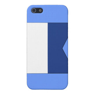 Alpha (A) Signal Flag iPhone SE/5/5s Cover
