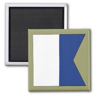 Alpha (A) Signal Flag Magnet