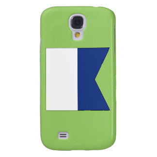 Alpha (A) Signal Flag Samsung Galaxy S4 Cover
