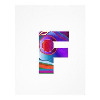 ALPHA Alphabet FFF Letterhead