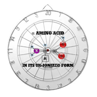 alpha Amino Acid In Its Un-Ionized Form (Molecule) Dartboard