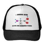 alpha Amino Acid In Its Un-Ionized Form (Molecule) Trucker Hat