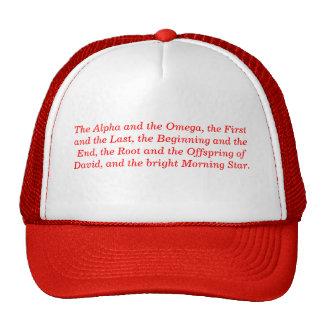 'Alpha and Omega' Hat