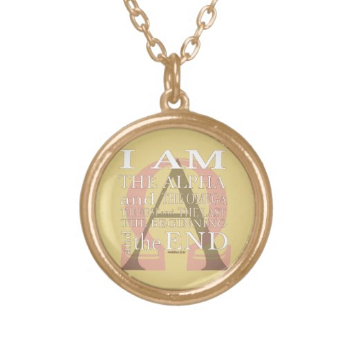 alpha and omega necklaces