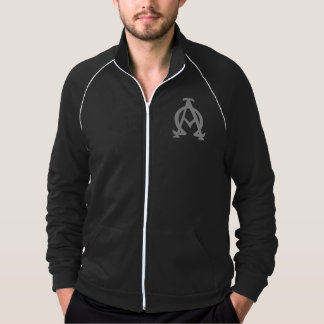 Alpha and Omega Track Sweater