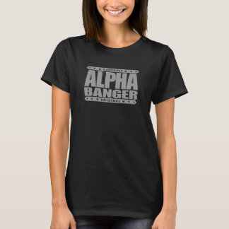 ALPHA BANGER - I'm An Undefeated Kickboxer, Silver T-Shirt