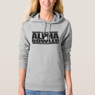 ALPHA BOWLER - Always Aim For Perfect Game, Black Hoodie