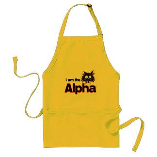 Alpha Cat Adult Apron
