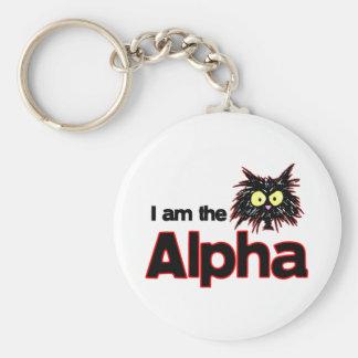 Alpha Cat Keychain