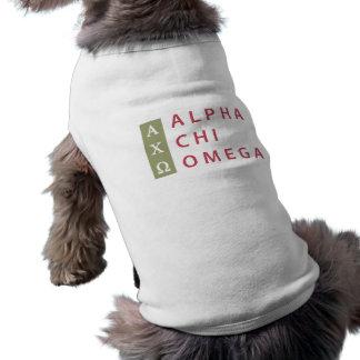 Alpha Chi Omega | Stacked Logo Shirt