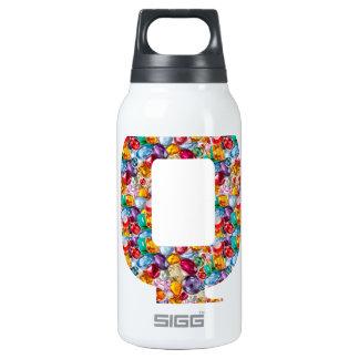Alpha Couture fun QQQ HHH Q H QQ HH Fashion 10 Oz Insulated SIGG Thermos Water Bottle