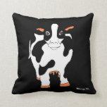 Alpha Cow Pillow