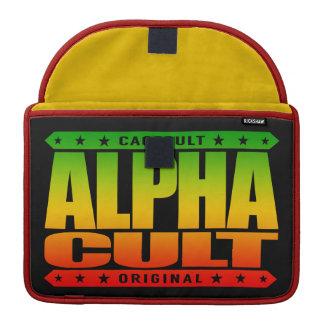 ALPHA CULT - I Love Mixed Martial Arts MMA, Rasta MacBook Pro Sleeve