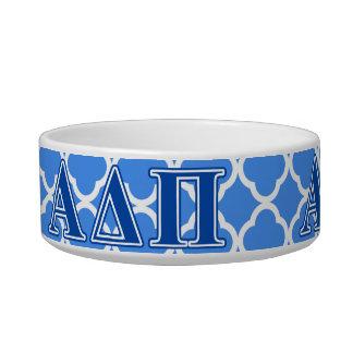 Alpha Delta Pi Dark Blue Letters Bowl
