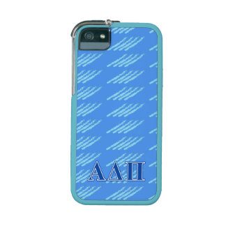 Alpha Delta Pi Dark Blue Letters iPhone 5 Cover