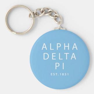 Alpha Delta Pi | Est. 1851 Keychain