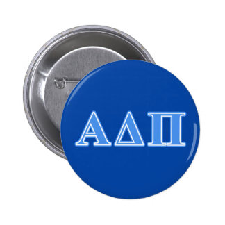 Alpha Delta Pi Light Blue Letters Button
