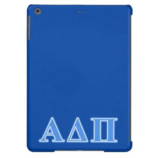 Alpha Delta Pi Light Blue Letters iPad Air Cover
