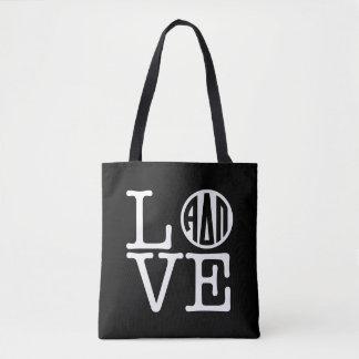 Alpha Delta Pi   Love Tote Bag