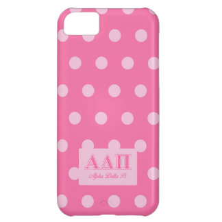 Alpha Delta Pi Pink Letters Cover For iPhone 5C