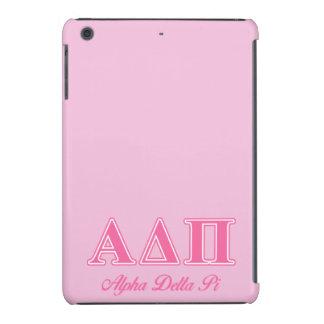 Alpha Delta Pi Pink Letters iPad Mini Cover
