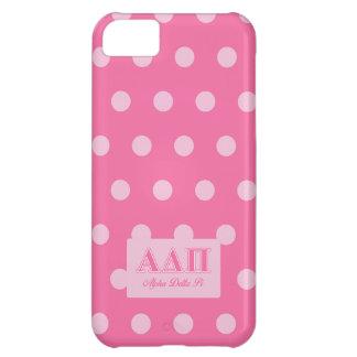 Alpha Delta Pi Pink Letters iPhone 5C Case