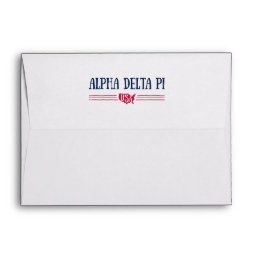 Alpha Delta Pi - USA Envelope
