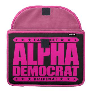 ALPHA DEMOCRAT - I Am a Donkey Punch Expert, Pink MacBook Pro Sleeve