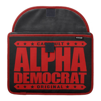 ALPHA DEMOCRAT - I Am a Donkey Punch Expert, Red Sleeves For MacBooks