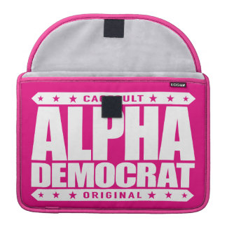 ALPHA DEMOCRAT - I Am a Donkey Punch Expert, White Sleeves For MacBook Pro