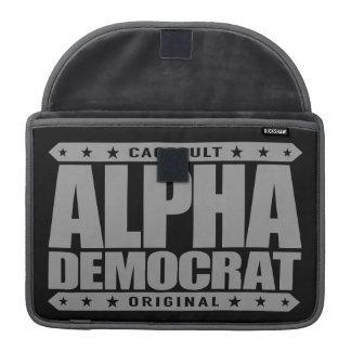 ALPHA DEMOCRAT - I Am Donkey Punch Expert, Silver MacBook Pro Sleeve