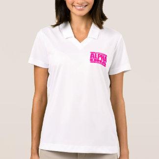 ALPHA DNA - DIY Human Genetic Engineering, Pink Polo Shirt