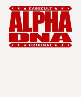 ALPHA DNA - DIY Human Genetic Engineering, Red T Shirts