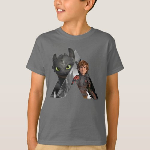 Alpha Dragon Toothless  Hiccup T_Shirt
