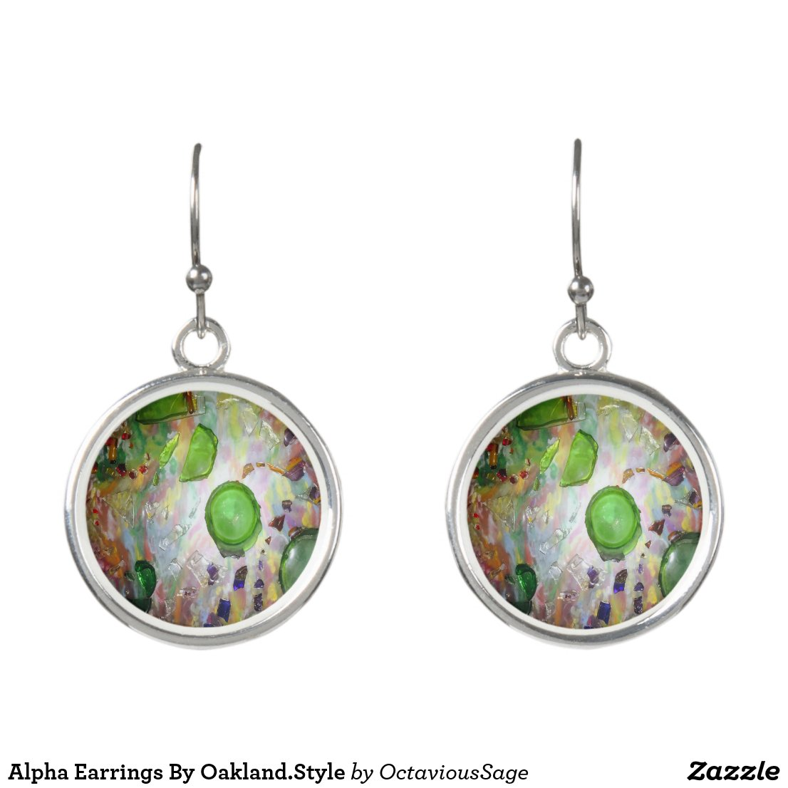 Alpha Earrings By Oakland.Style