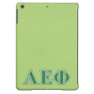 Alpha Epsilon Phi Green Letters 3 iPad Air Cases