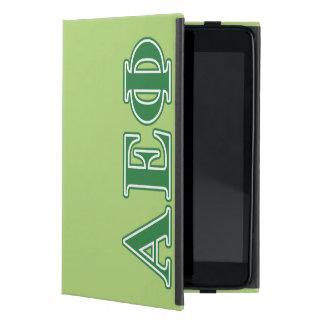 Alpha Epsilon Phi Green Letters 3 iPad Mini Cases