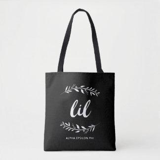 Alpha Epsilon Phi   Lil Wreath Tote Bag