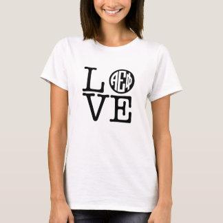 Alpha Epsilon Phi   Love T-Shirt