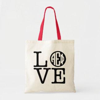 Alpha Epsilon Phi   Love Tote Bag