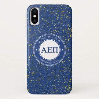 Alpha Epsilon Pi   Badge iPhone X Case