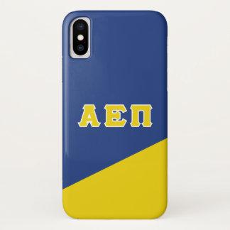 Alpha Epsilon Pi   Greek Letters iPhone X Case